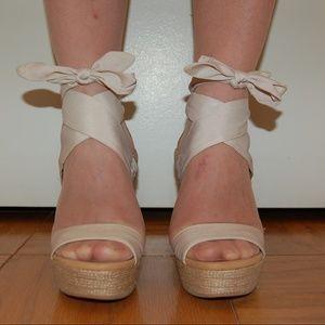 UGG Australia Platform Wedge Sandals